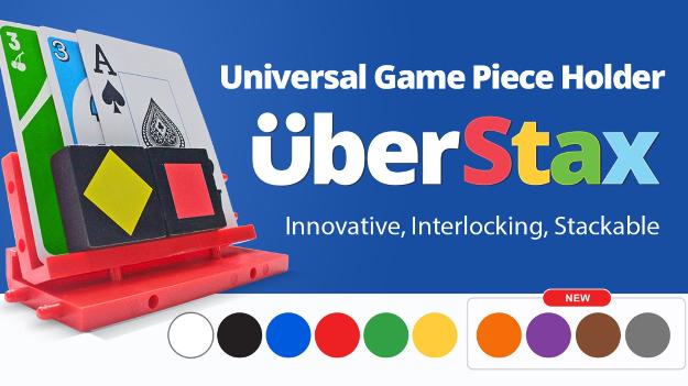 UberStax: Universal Game Piece Holder (1)