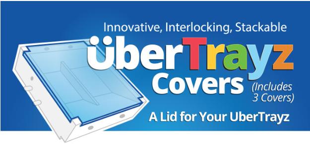 UberStax: UberTrayz Covers (3-Pack)