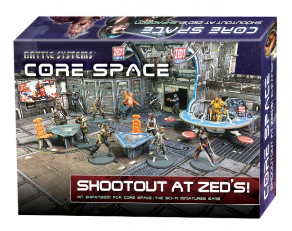 Core Space: Shootout at Zed's Expansion
