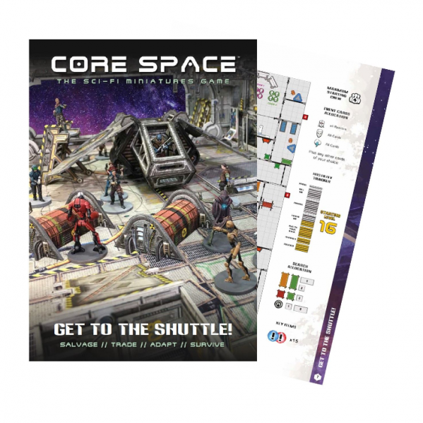 Core Space: Get to the Shuttle Expansion