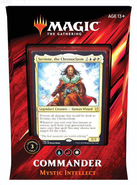 Magic the Gathering: Commander Deck 2019 - Mystic Intellect