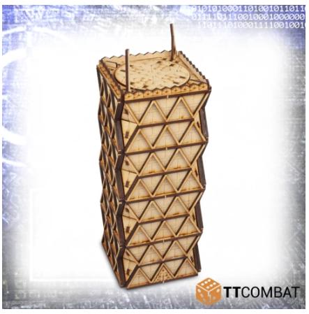 10mm Terrain: Sci-fi Scenics - Pythagoras Tower