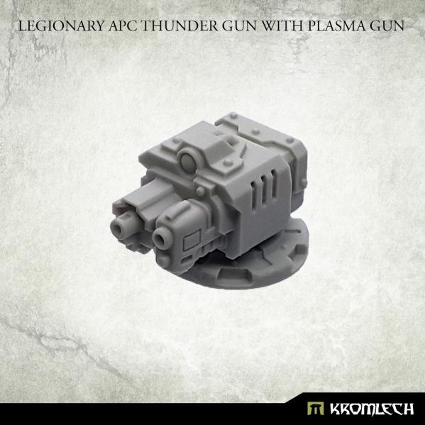 Kromlech Accessories: Legionary APC Thunder Gun with Plasma Gun (1)