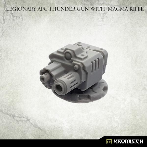 Kromlech Accessories: Legionary APC Thunder Gun with Magma Rifle (1)