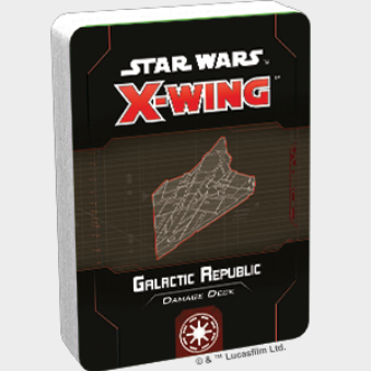 X-Wing 2.0: Galactic Republic Damage Deck