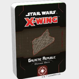 X-Wing 2.0: Galactic Republic Damage Deck