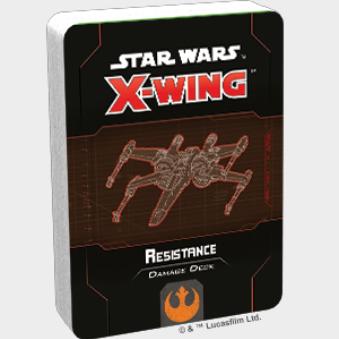 X-Wing 2.0: Resistance Damage Deck