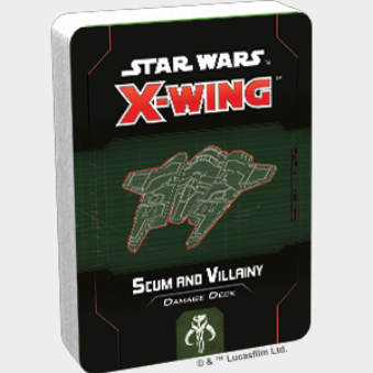 X-Wing 2.0: Scum and Villainy Damage Deck