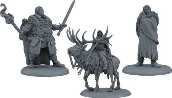 A Song of Ice & Fire: Tabletop Miniatures Game - Nights Watch Heroes Box #2