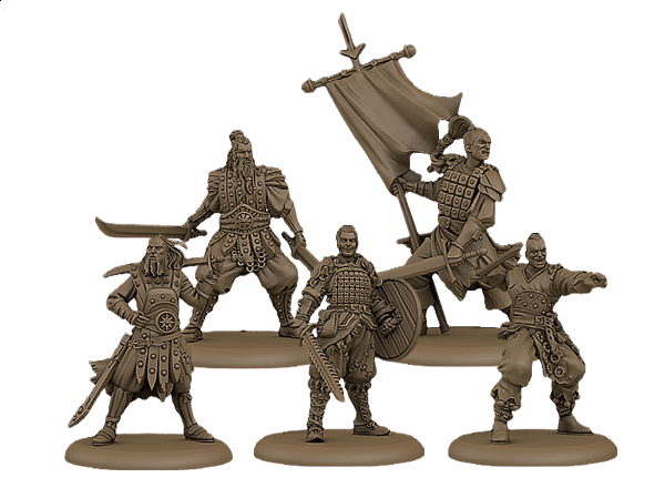 A Song of Ice & Fire: Tabletop Miniatures Game - Bloody Mummer Skirmishers Unit Box