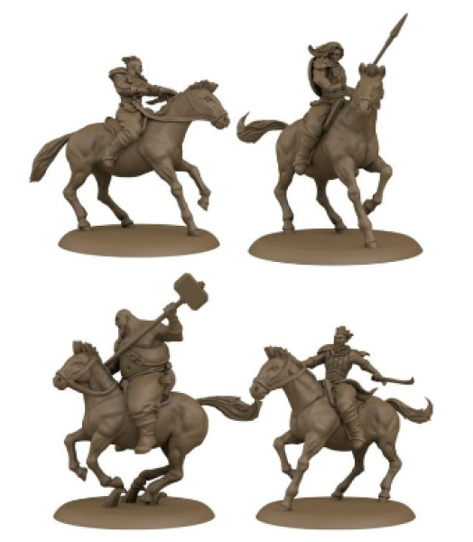 A Song of Ice & Fire: Tabletop Miniatures Game - Bloody Mummer Zorse Riders Unit Box