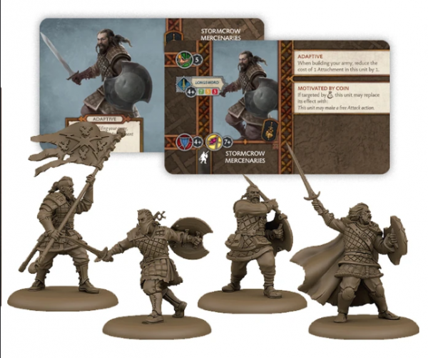A Song of Ice & Fire: Tabletop Miniatures Game - Stormcrow Mercenaries Unit Box