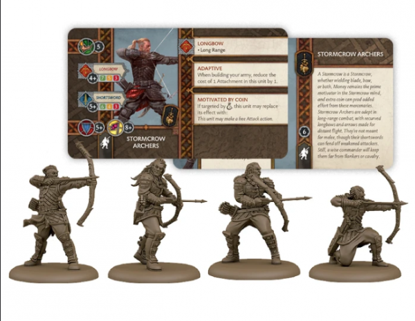 A Song of Ice & Fire: Tabletop Miniatures Game - Stormcrow Archers Unit Box