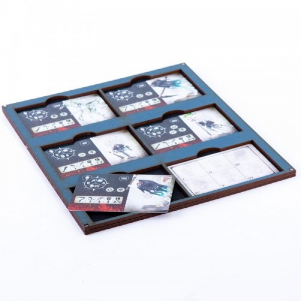 Game Accessory: Command Terminal System - Standard Card size Command Terminal Topper (Blue)