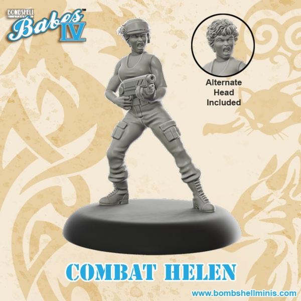 Bombshell Miniatures: Combat Helen