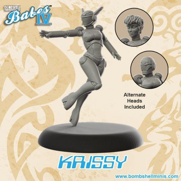 Bombshell Miniatures: Krissy