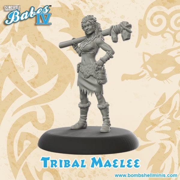 Bombshell Miniatures: Tribal Maelee