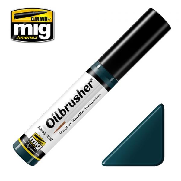 AMMO: Oilbrusher - Raptor Shuttle Turquoise
