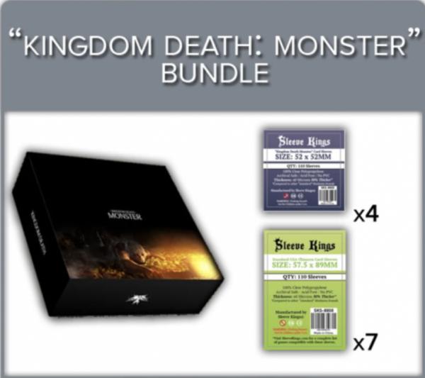 Sleeve Kings: Kingdom Death Monster Sleeve Bundle (8805 x4 + 8808 x7)