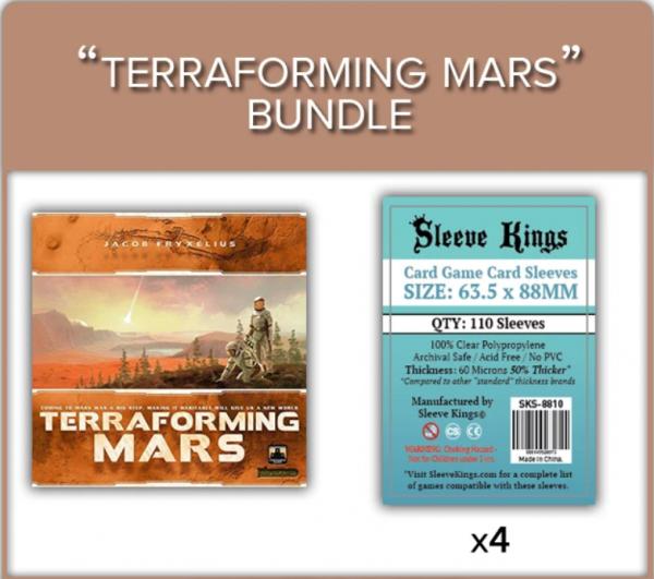 Sleeve Kings: Terraforming Mars Complete Sleeve Bundle (8810 x4)