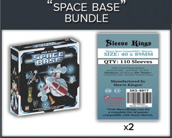Sleeve Kings: Space Base Sleeve Bundle (8817 x2)