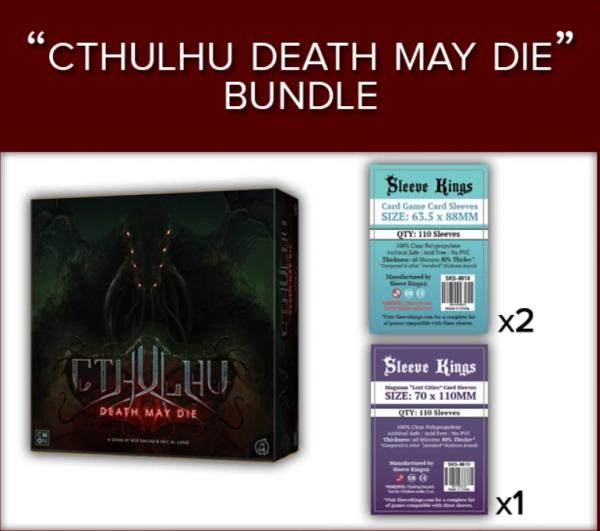 Sleeve Kings: Cthulhu Death May Die Sleeve Bundle (8808 x2 + 8814 x1)