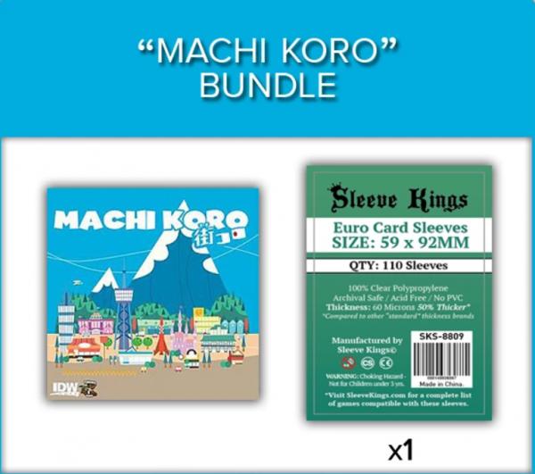 Sleeve Kings: Machi Koro Sleeve Bundle (8809 x1)