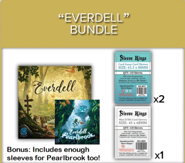 Sleeve Kings: Everdell Sleeve Bundle (8810 x2 + 8803 x1)