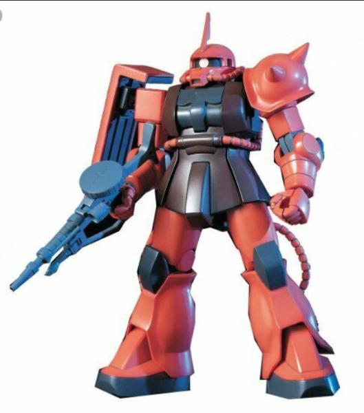 Gundam: 1/144 HGUC MS-06S ZAKU Ⅱ