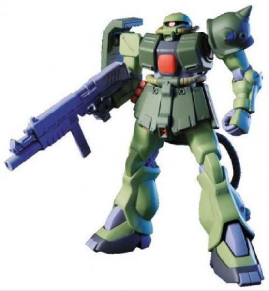 Gundam: 1/144 HGUC ZAKU II KAI