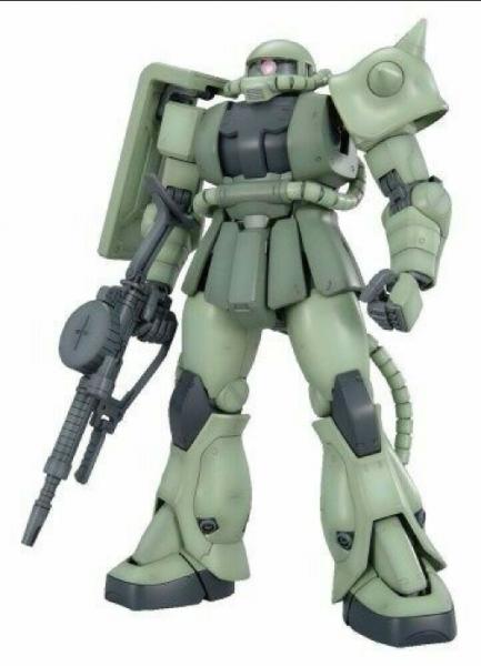 Gundam: MG 1/100 MS-06F ZAKU Ⅱ Ver.2.0
