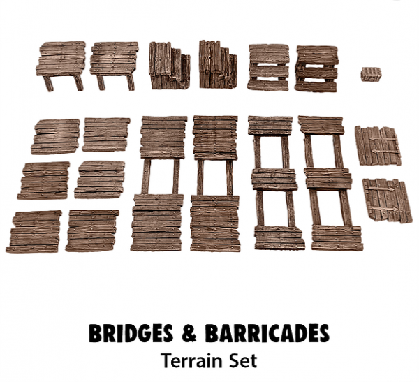 Monster Scenery: Bridges & Barricades
