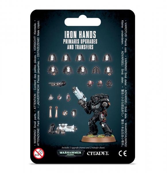 Warhammer 40K: IRON HANDS PRIMARIS UPGRADES & TRANSFERS
