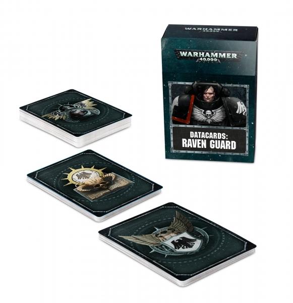 Warhammer 40K: RAVEN GUARD DATACARDS (2019)