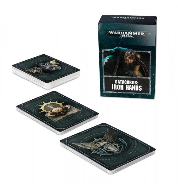 Warhammer 40K: IORN HANDS DATACARDS (2019)