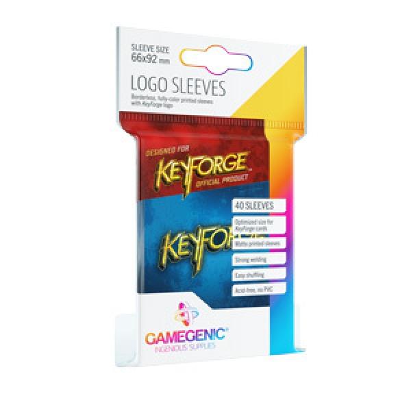KeyForge Printed Sleeves: Blue