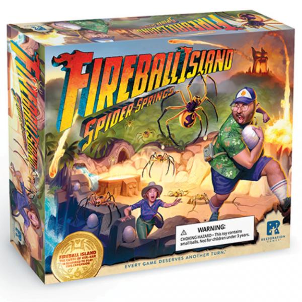 Fireball Island: Spider Springs