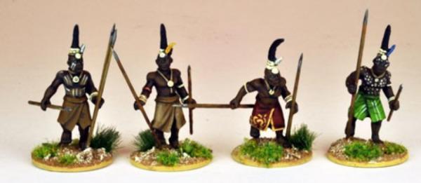 28mm Historical: (Colonial Africa) Senior Ila warriors (4)
