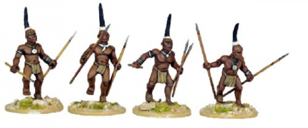 28mm Historical: (Colonial Africa) Ila Warriors (4)