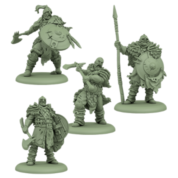 A Song of Ice & Fire: Tabletop Miniatures Game: Free Folk Thenn Warriors Unit Box