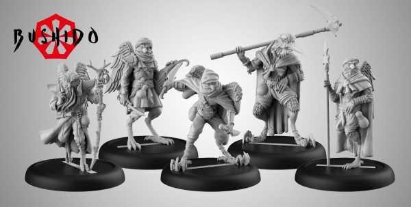 Bushido, Risen Sun: (Tengu Descension) Tengu Starter Set