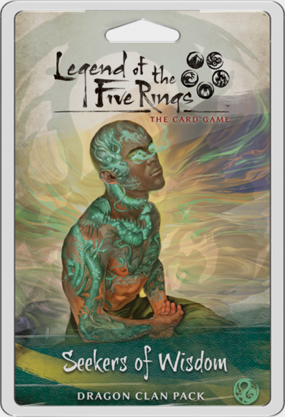 Legend of the Five Rings LCG: Seekers of Wisdom Dragon Clan Pack