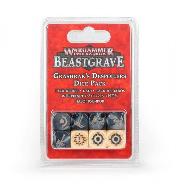 Warhammer Underworlds: Grashrak's Despoilers Dice Set