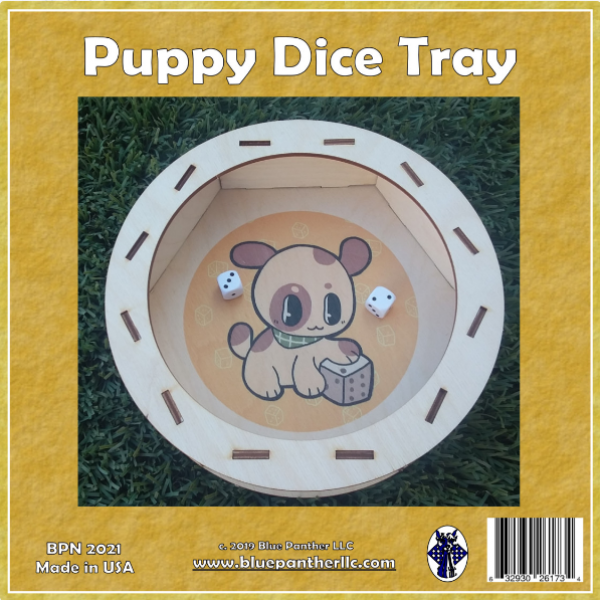Puppy Dice Tray