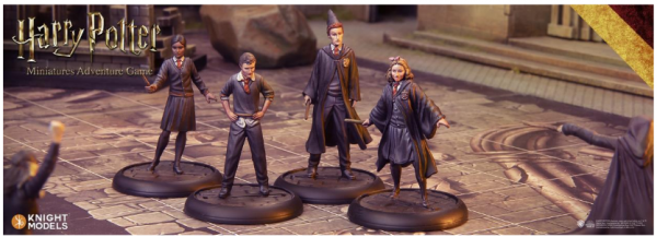 Harry Potter Miniature Game: Gryffindor Students