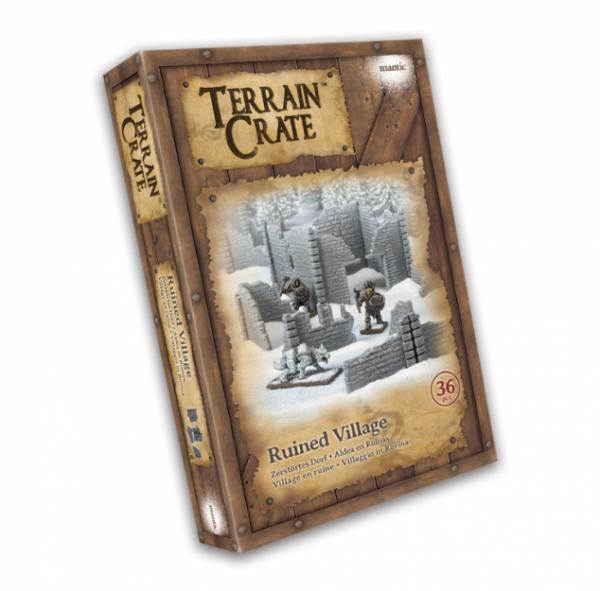 Terrain Crates: Ruined Village