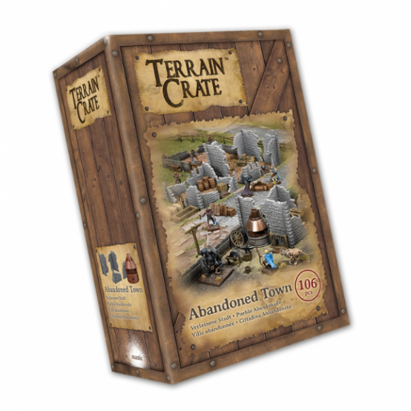 Terrain Crates: Abandoned Town