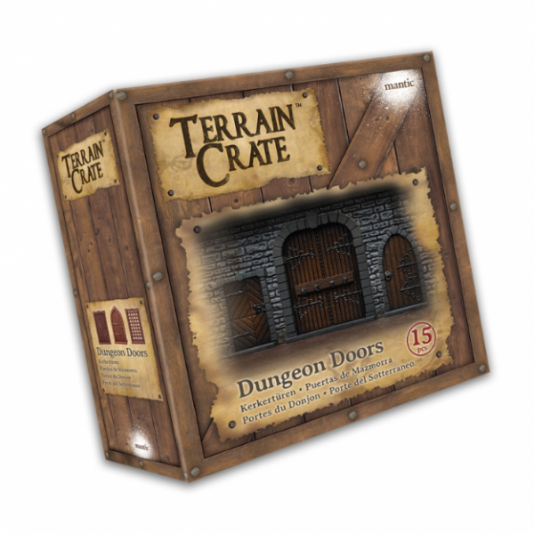 Terrain Crates: Dungeon Doors