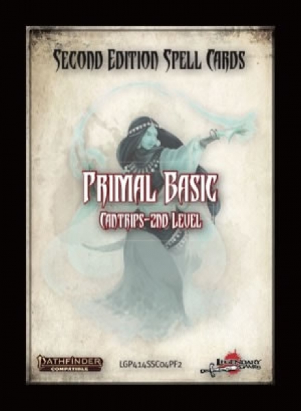 Pathfinder (P2) RPG: Spell Cards - Primal Basic