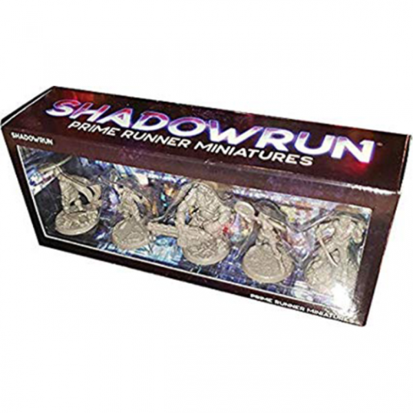 Shadowrun RPG 6th Edition: Prime Runner Miniatures